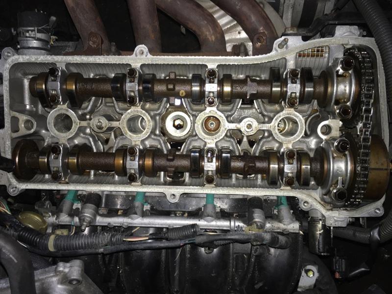 Двигатель Toyota Rav4 ACA30W 1AZ-FE 2007