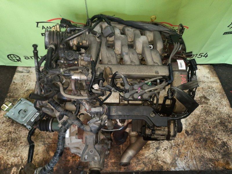 Двигатель Mazda Mpv LW5W GY-DE 2001