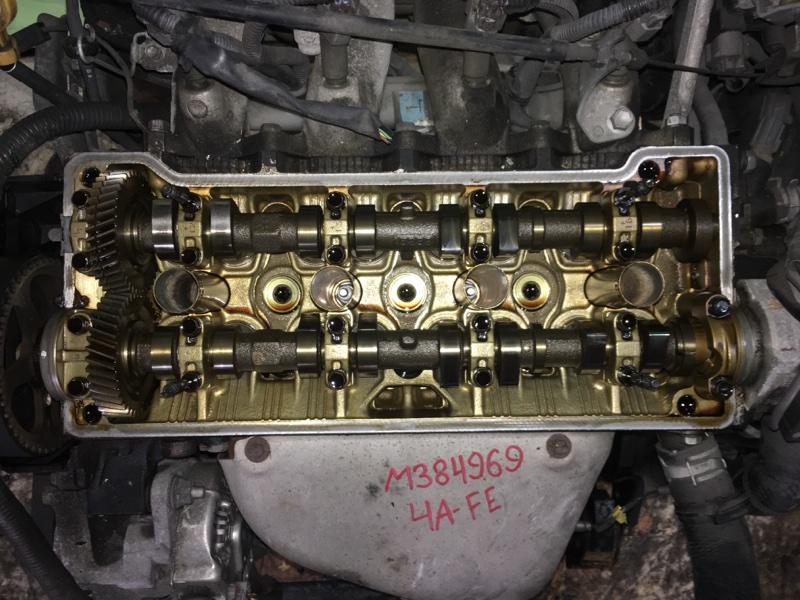 Двигатель Toyota Corolla Spacio AE111 4A-FE 1999