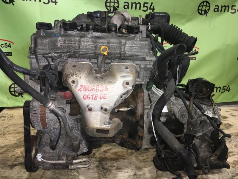 Двигатель Nissan Wingroad WHNY11 QG18DE 2003