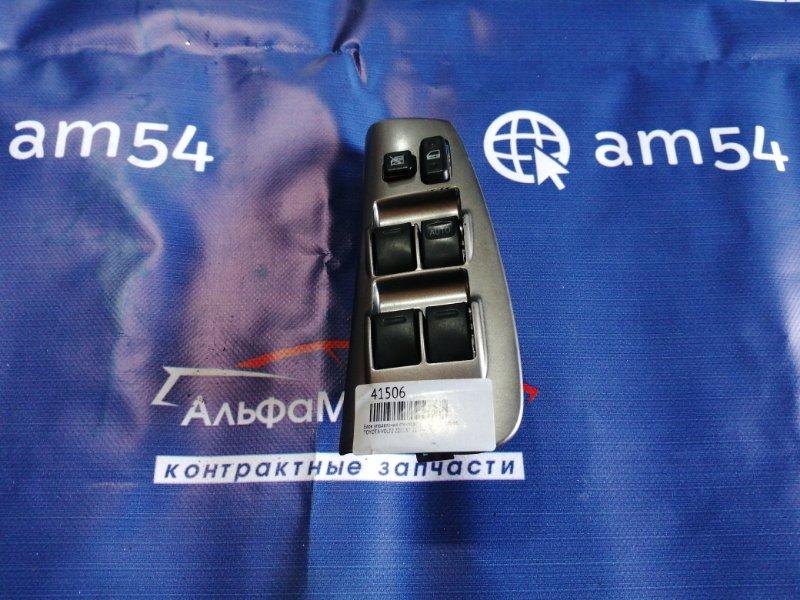 Блок управления стеклоподъемниками Toyota Voltz ZZE137 2ZZ-GE 2002 передний правый