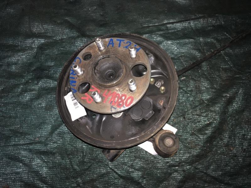Ступица Toyota Carina AT212 5A-FE задняя правая