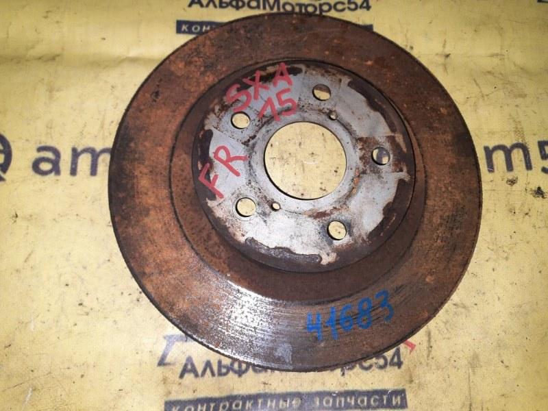 Тормозной диск Toyota Rav4 SXA15 3S-FE 1998 передний правый