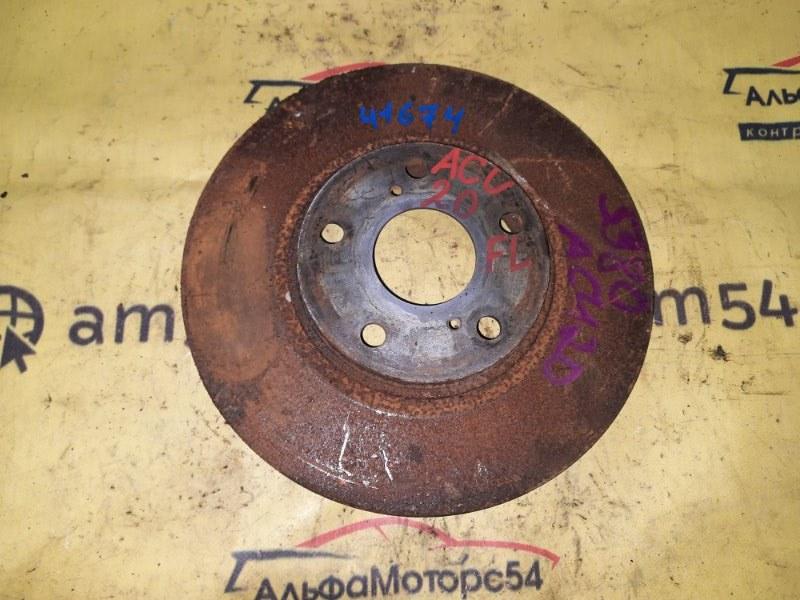 Тормозной диск Toyota Kluger ACU20 2AZ-FE 2001 передний левый