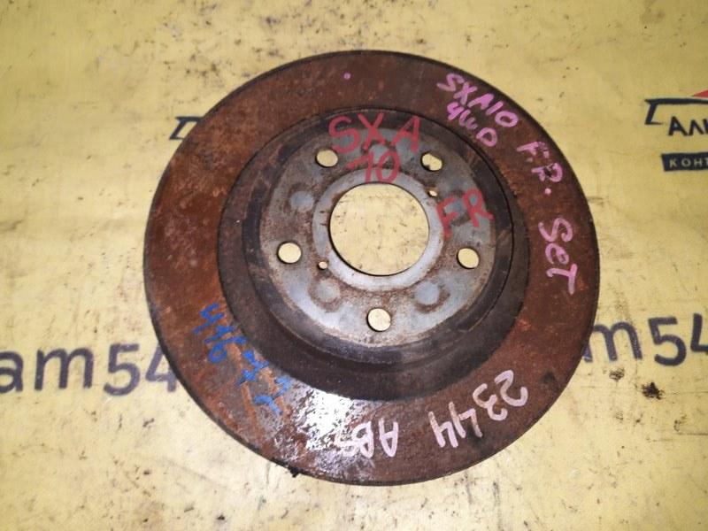 Тормозной диск Toyota Rav4 SXA10 3S-FE 1997 передний левый