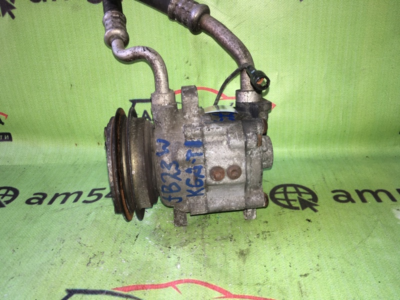 Компрессор кондиционера Suzuki Jimny JB23W K6A-T 2000