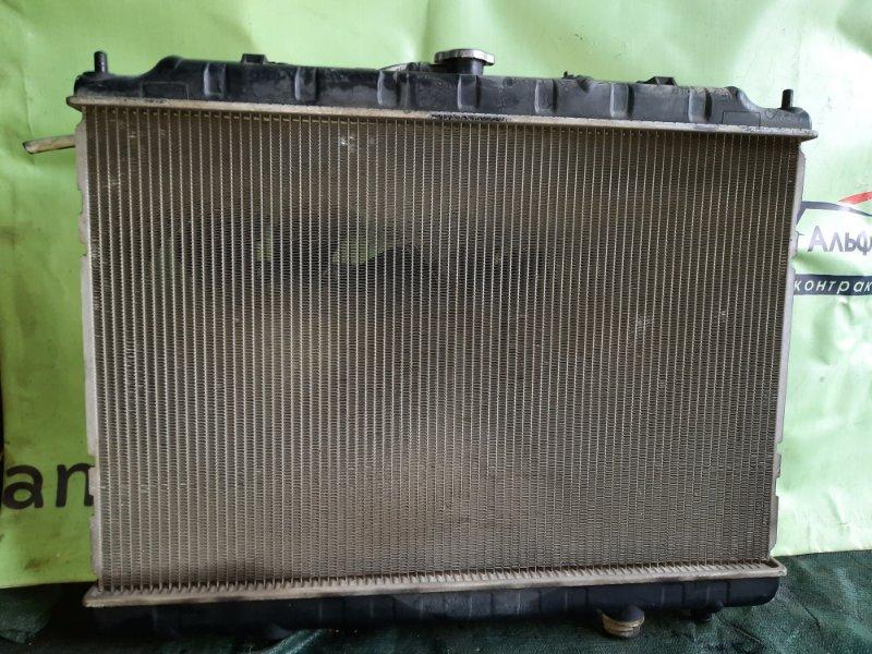 Радиатор основной Nissan Serena C24 QR20DE 2002