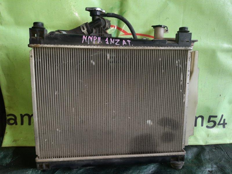 Радиатор основной Toyota Porte NNP11 1NZ-FE 2004