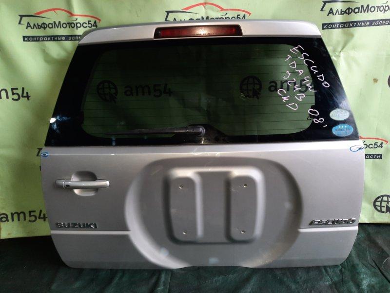 Дверь 5-я Suzuki Escudo TDA4W J24B 2008 задняя