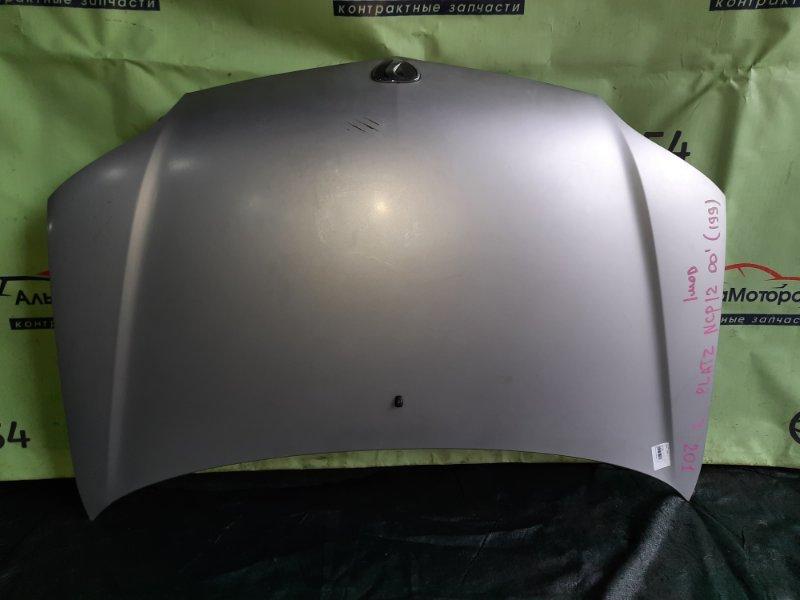 Капот Toyota Platz NCP12 1NZ-FE 2000