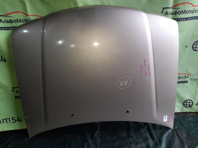 Капот Nissan Sunny B15 QG13DE 2002