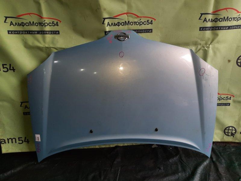 Капот Nissan Tino V10 QG18DE 2001