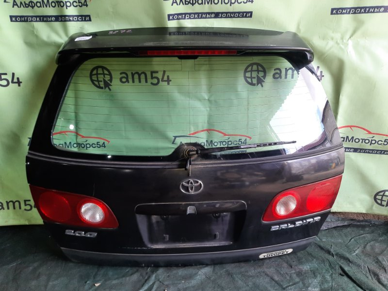 Дверь 5-я Toyota Caldina ST210 3S-FE 1997 задняя