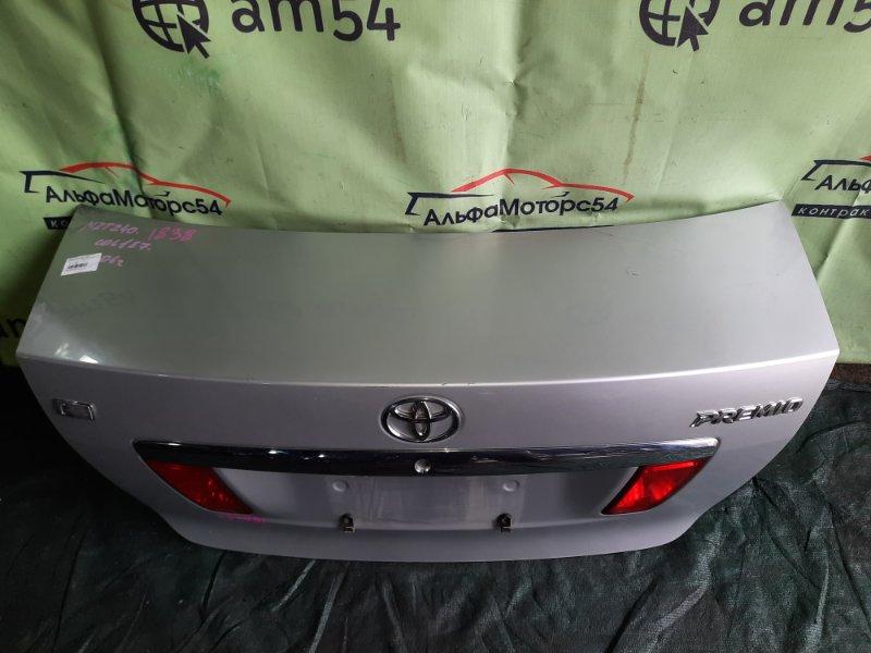 Крышка багажника Toyota Premio NZT240 1NZ-FE 2006 задняя