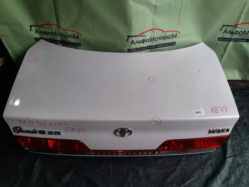 Крышка багажника Toyota Mark Ii GX100 1G-FE 2000 задняя