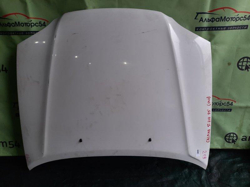Капот Toyota Caldina ST210 3S-FE 1999