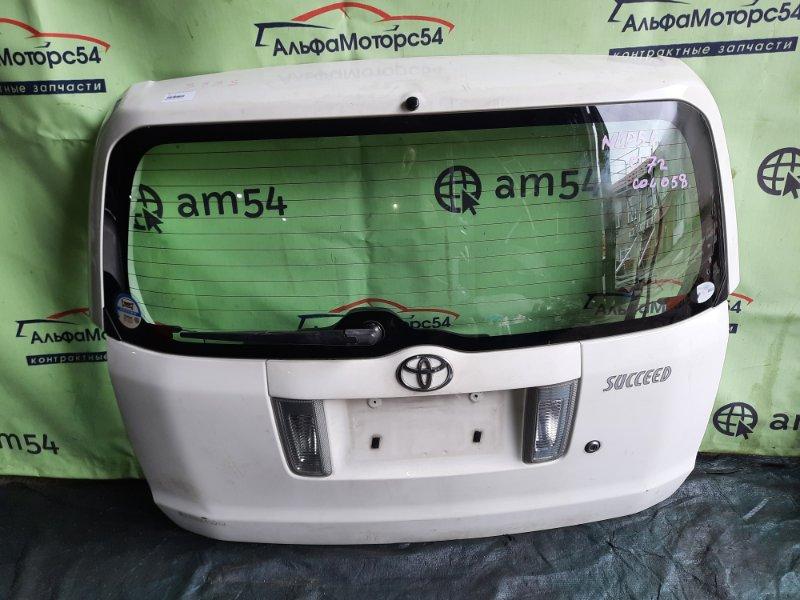 Дверь 5-я Toyota Succeed NLP51 1ND-TV 2007 задняя