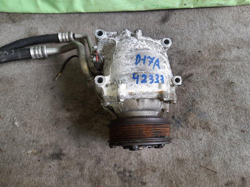 Компрессор кондиционера Honda Stream RN1 D17A 2001
