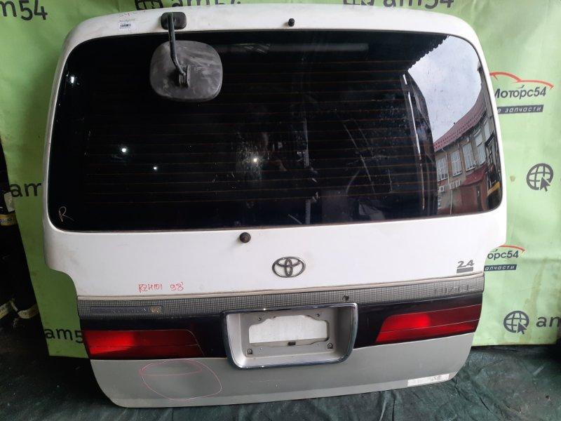 Дверь 5-я Toyota Hiace RZH101 2RZ-E 1998 задняя