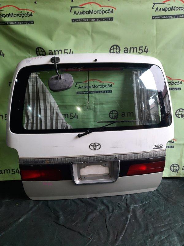 Дверь 5-я Toyota Hiace KZH106 1KZ-TE 1998 задняя