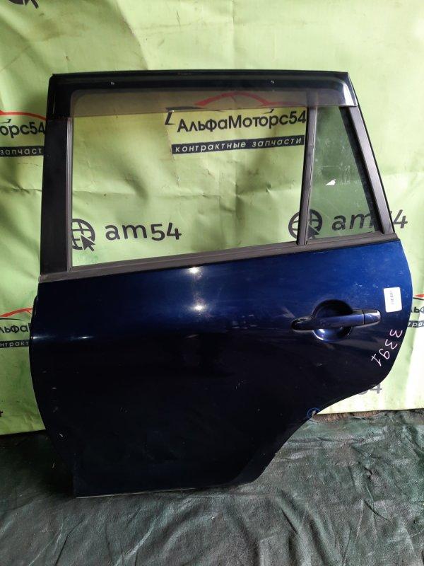 Дверь Toyota Rav4 ACA31 2AZ-FE 2008 задняя левая