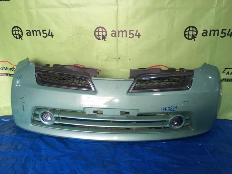 Бампер Nissan March K12 CR10DE 2008 передний