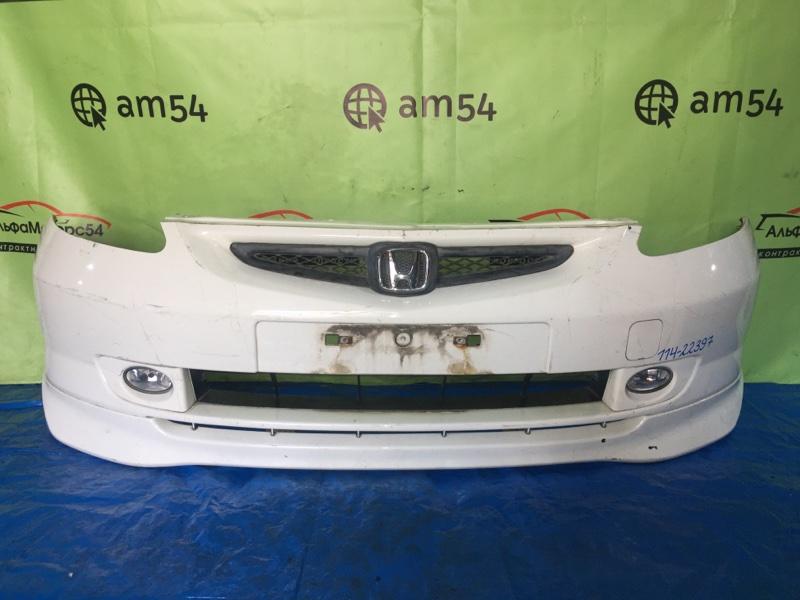 Бампер Honda Fit GD1 L13A 2003 передний