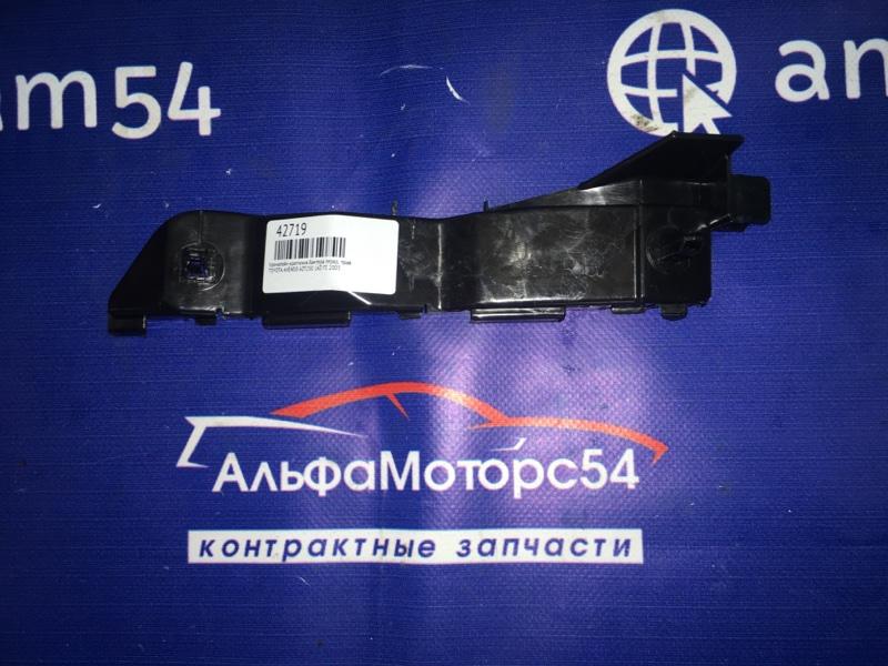 Кронштейн крепления бампера Toyota Avensis AZT250 1AZ-FE 2003 передний правый