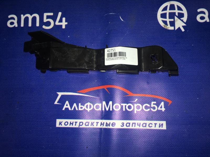 Кронштейн крепления бампера Toyota Avensis AZT250 1AZ-FE 2006 передний левый