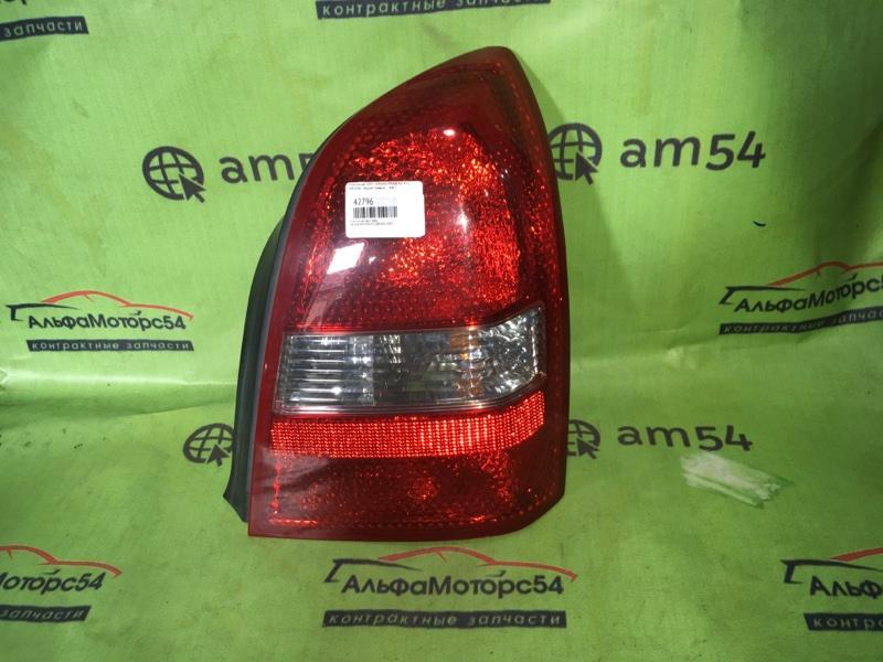 Стоп-сигнал Nissan Primera P12 QR20DE 2002 задний правый