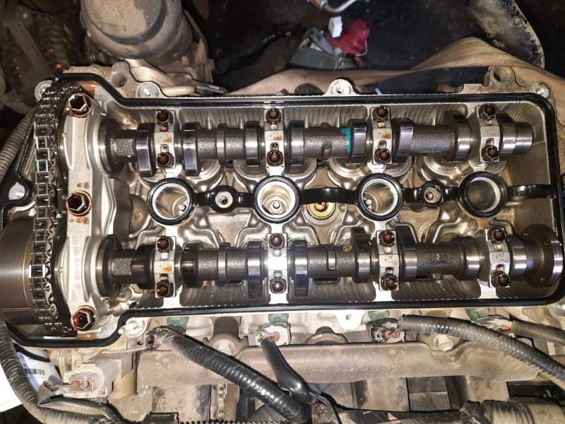 Двигатель Toyota Funcargo NCP25 1NZ-FE 2004