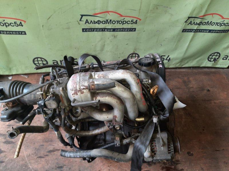 Двигатель Toyota Corsa EL51 4E-FE 1998