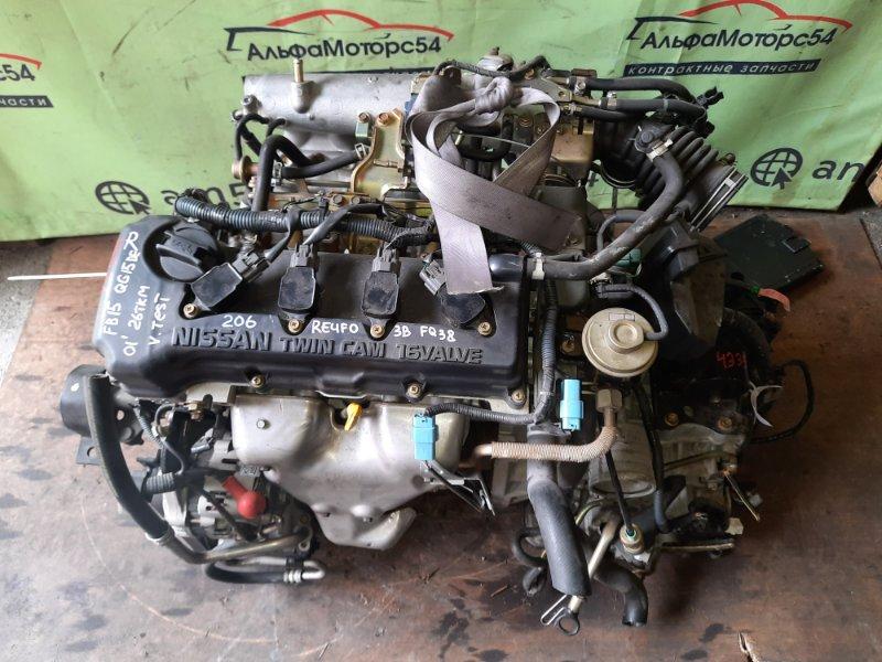 Двигатель Nissan Sunny B15 QG15DE 2001
