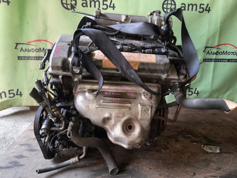 Двигатель Mazda Familia BJ5W ZL-DE 2000