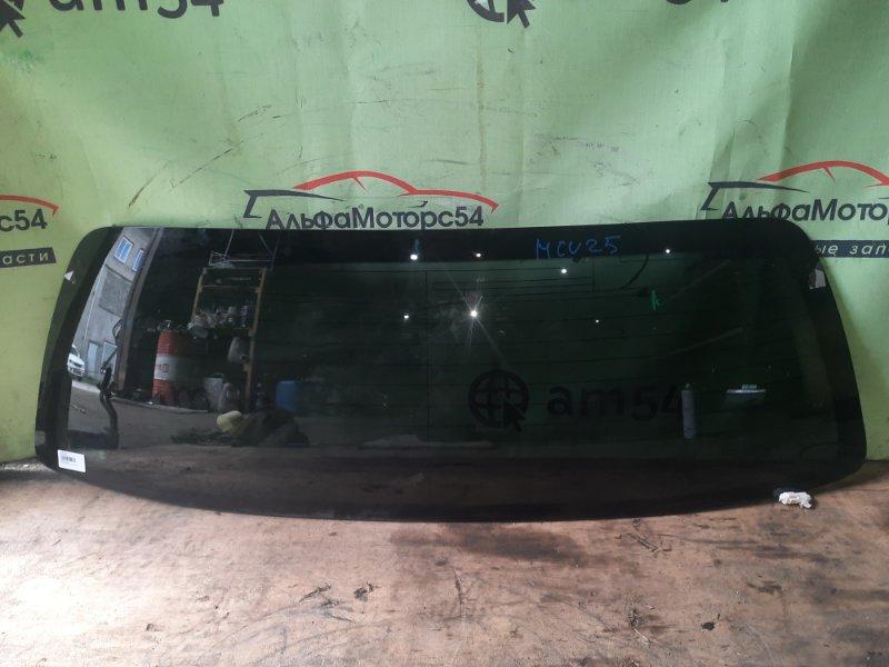 Стекло двери 5-й Toyota Highlander MCU25 1MZ-FE 2003 заднее