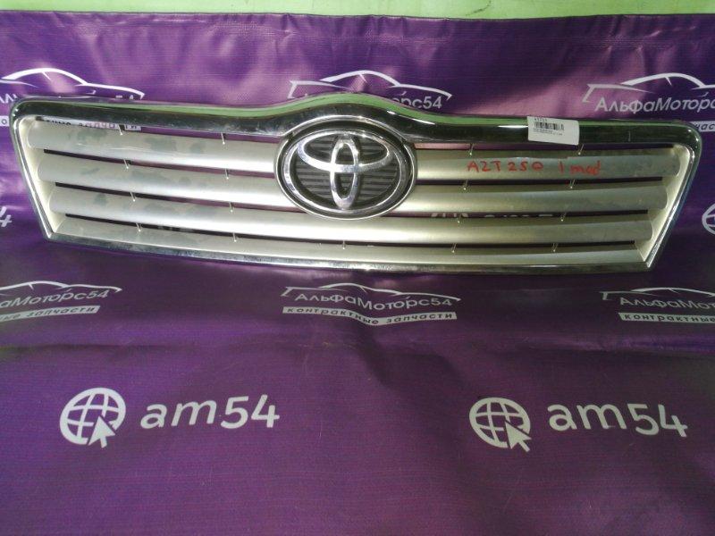 Решетка радиатора Toyota Avensis AZT250 1AZ-FE 2004 передняя