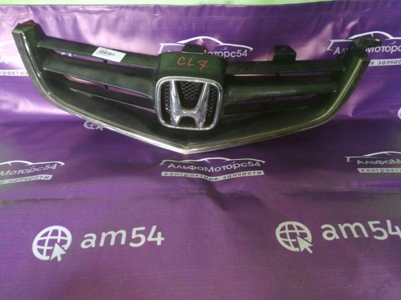 Решетка радиатора Honda Accord CL7 K24A 2003 передняя