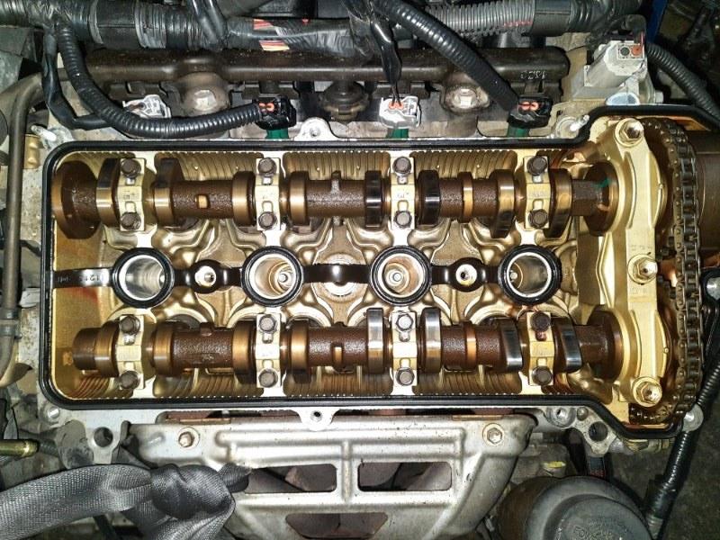 Двигатель Toyota Funcargo NCP21 1NZ-FE 2003