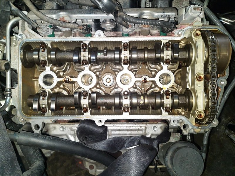 Двигатель Toyota Funcargo NCP21 1NZ-FE 2005
