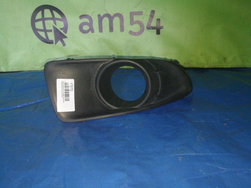 Ободок противотуманной фары Mazda Atenza GG3S L3-VE 2004 передний правый