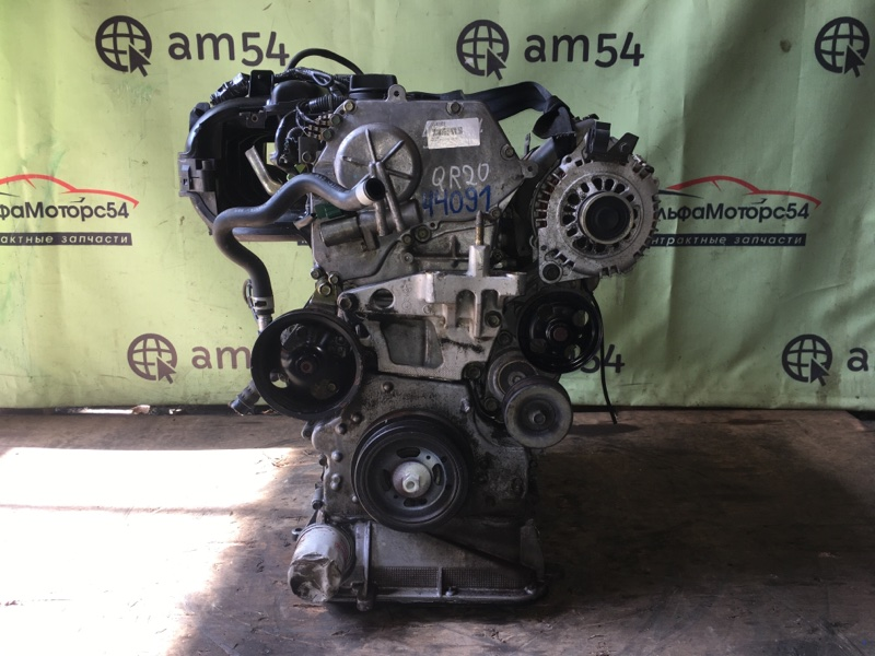 Двигатель Nissan X-Trail T30 QR20DE 2001