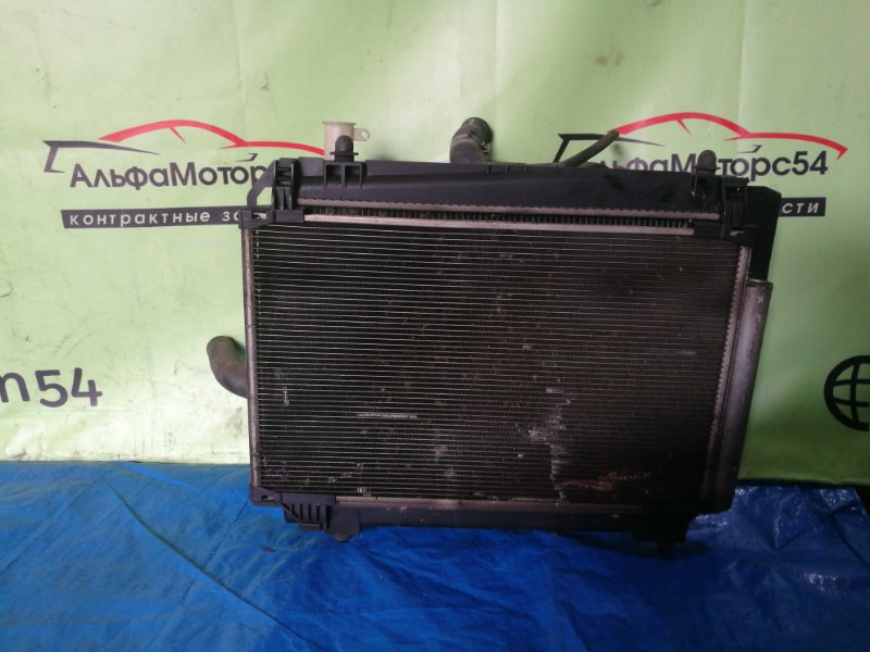 Радиатор основной Toyota Ractis NCP100 1NZ-FE 2003