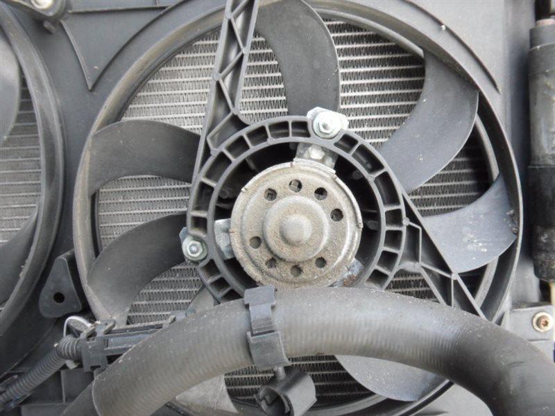 Вентилятор радиатора Vw Golf 4 1J1 AXR 2002 передний левый