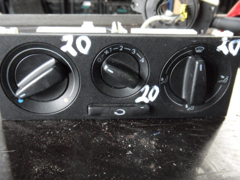 Блок управления отопителем Vw Passat B5 3B5 AHL 1997