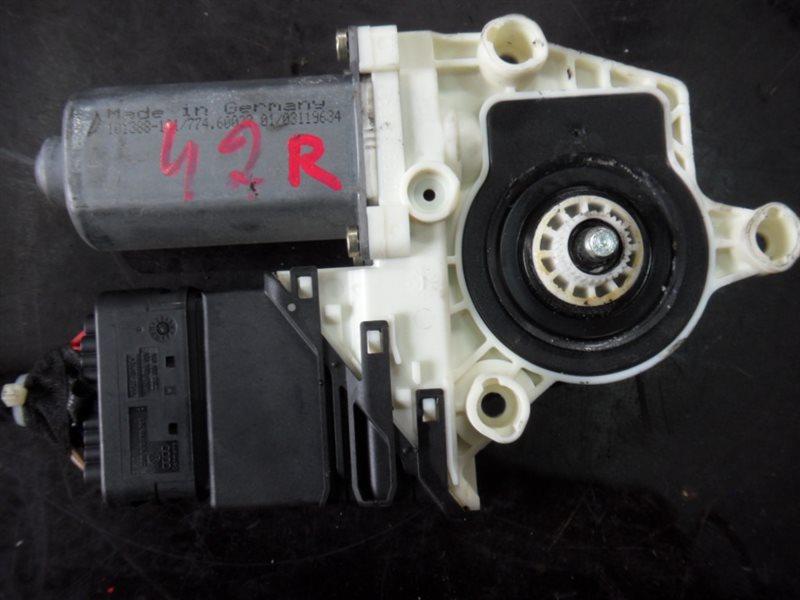 Мотор стеклоподъемника Vw Golf 4 1J1 ALH 1999 передний правый