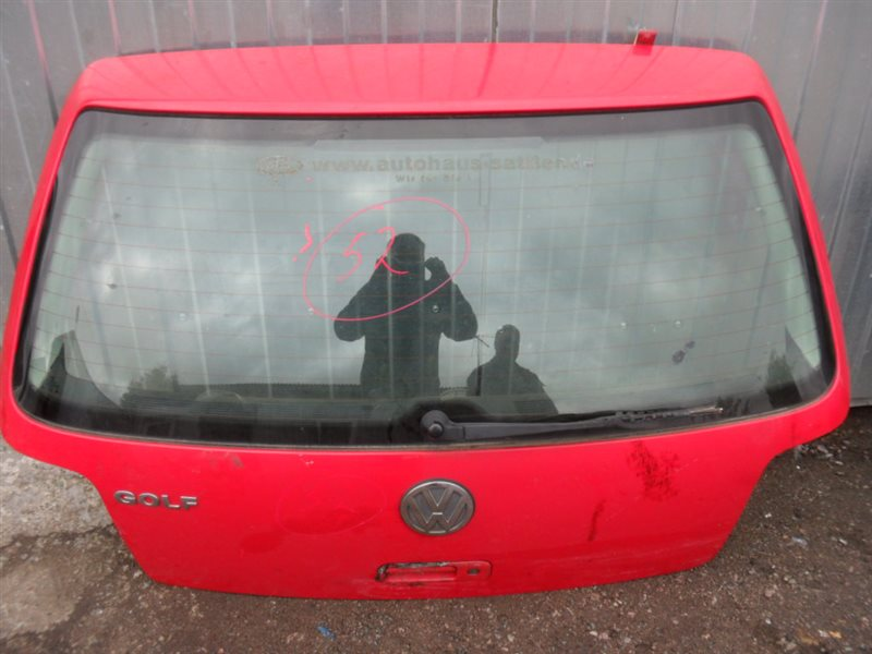 Дверь багажника Vw Golf 4 1J1 AKQ 1998 задняя