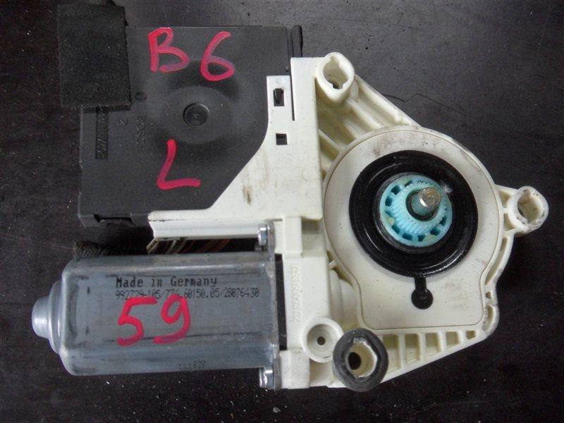 Мотор стеклоподъемника Vw Passat B6 3C5 BSE 2004 передний левый