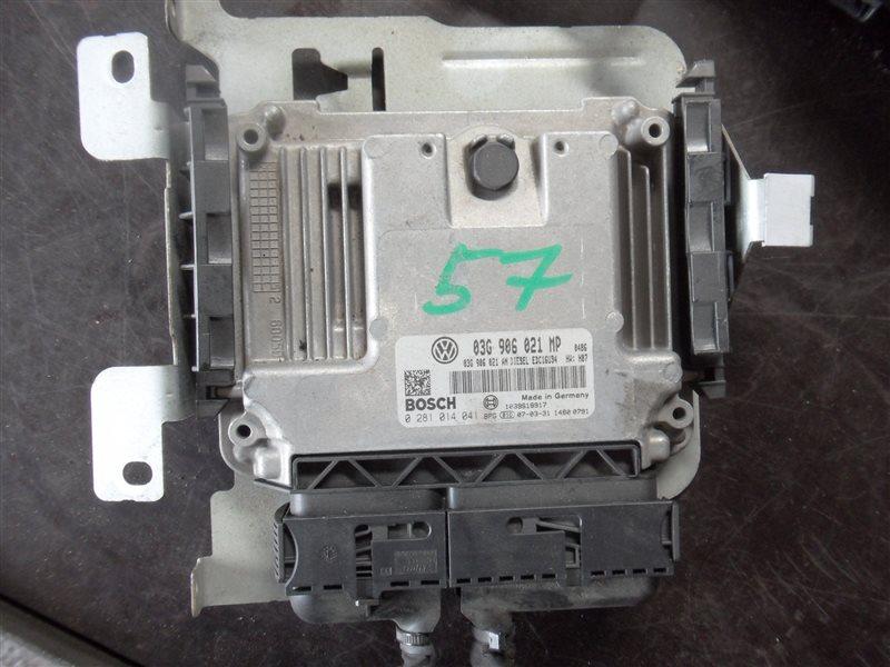 Блок управления двигателем эбу Vw Touran MK5 BKD 2009