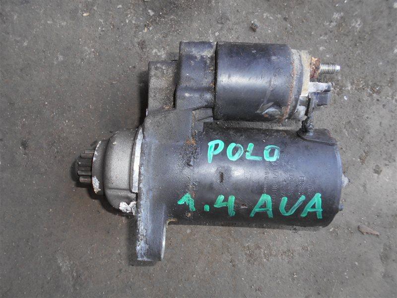 Стартер Vw Polo 9N AUA 2004