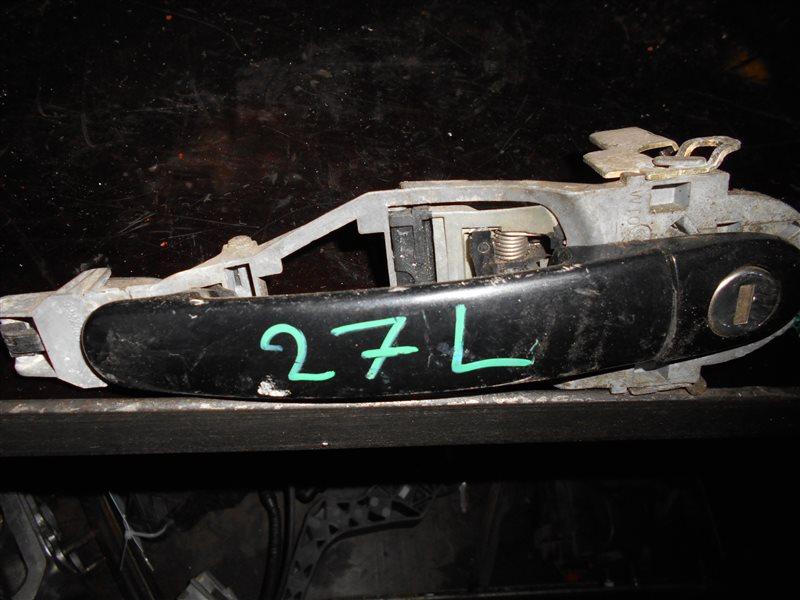 Ручка двери внешняя Vw Passat B5 3B6 AWX 2002 передняя левая